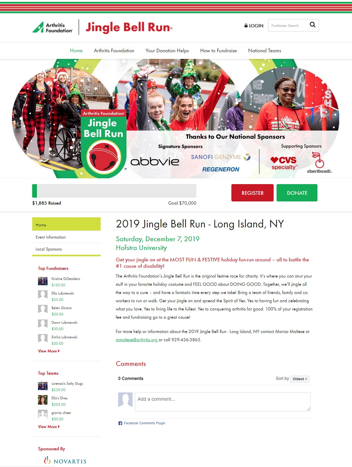 Jingle Bell website screenshot